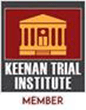 Logo Recognizing Law Office of Matthew A. Lathrop, PC, LLO's affiliation with Keenan Trial Institute